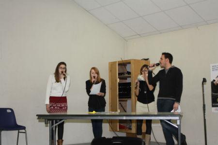 Les ateliers de la chanson animent le début de la journée